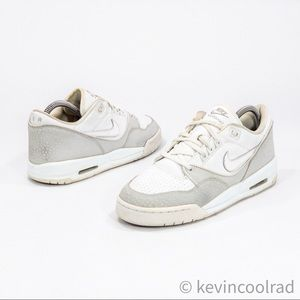 Nike Women's Air Assault Low GS White Sneakers